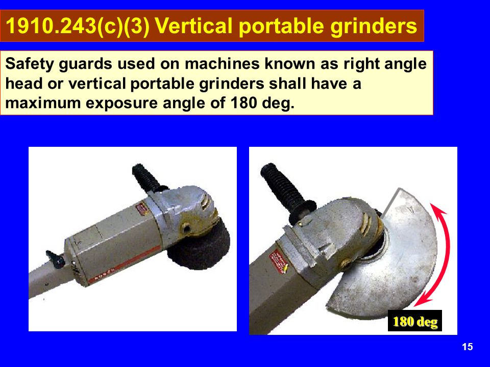 1910.243(c)(3) Vertical portable grinders