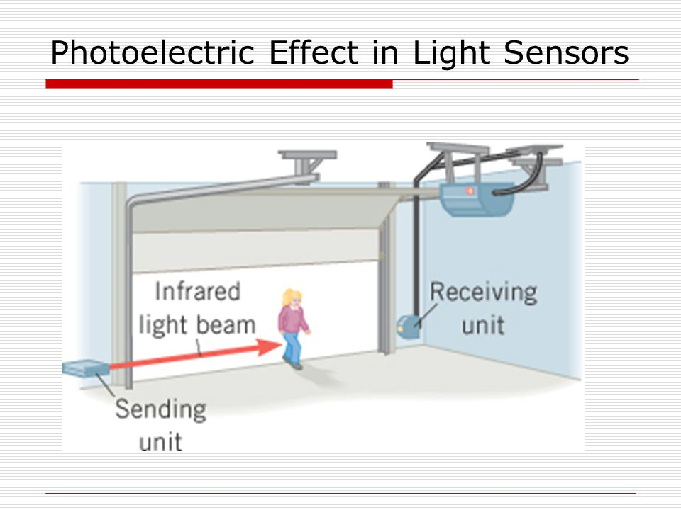 Photoelectric Effect in Light Sensors