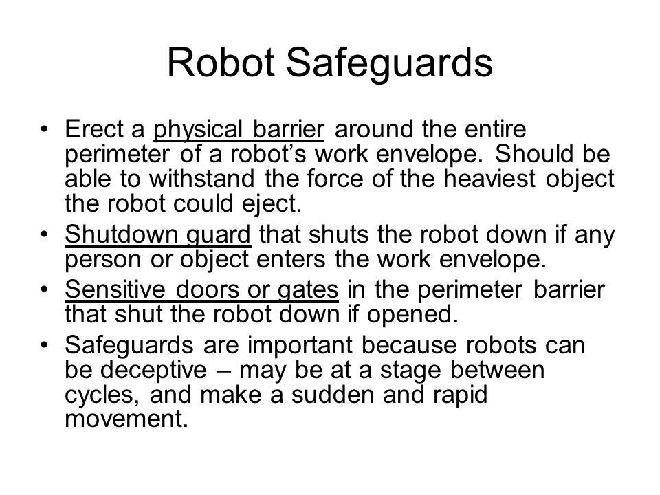 Robot Safeguards