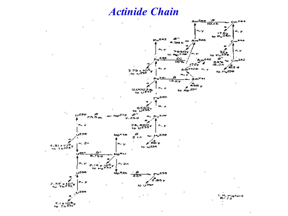 Actinide Chain