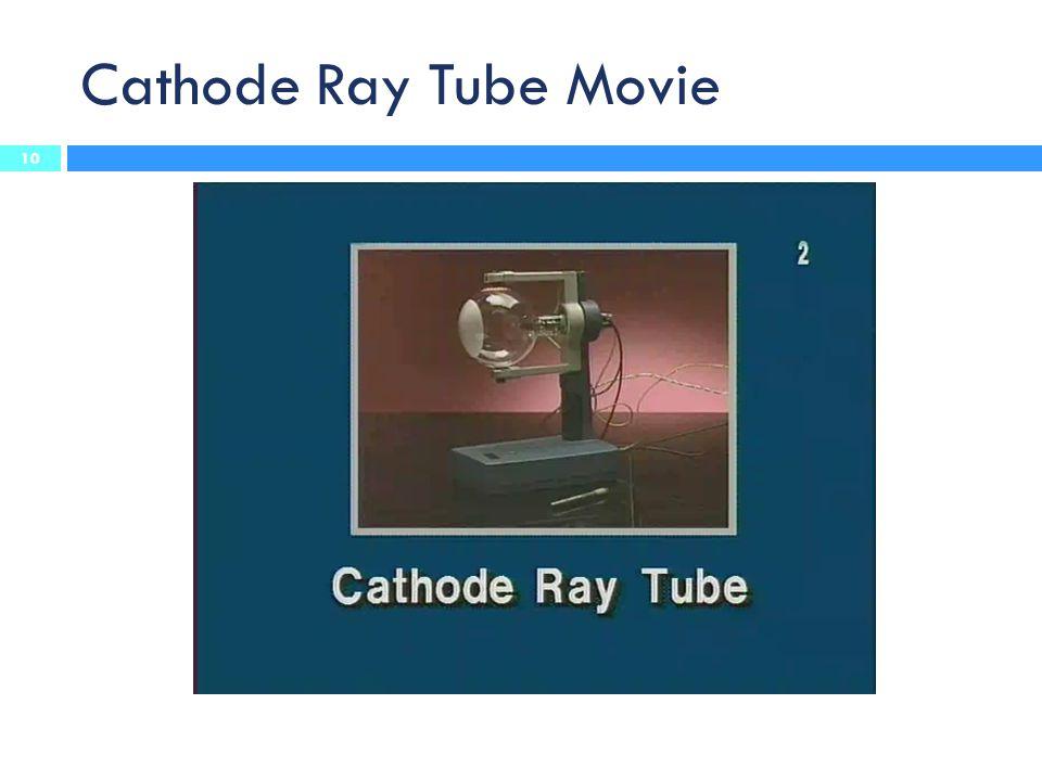 Cathode Ray Tube Movie