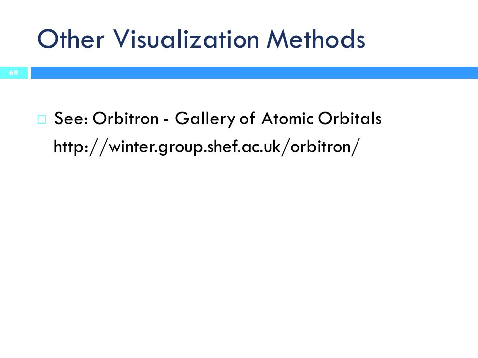 Other Visualization Methods
