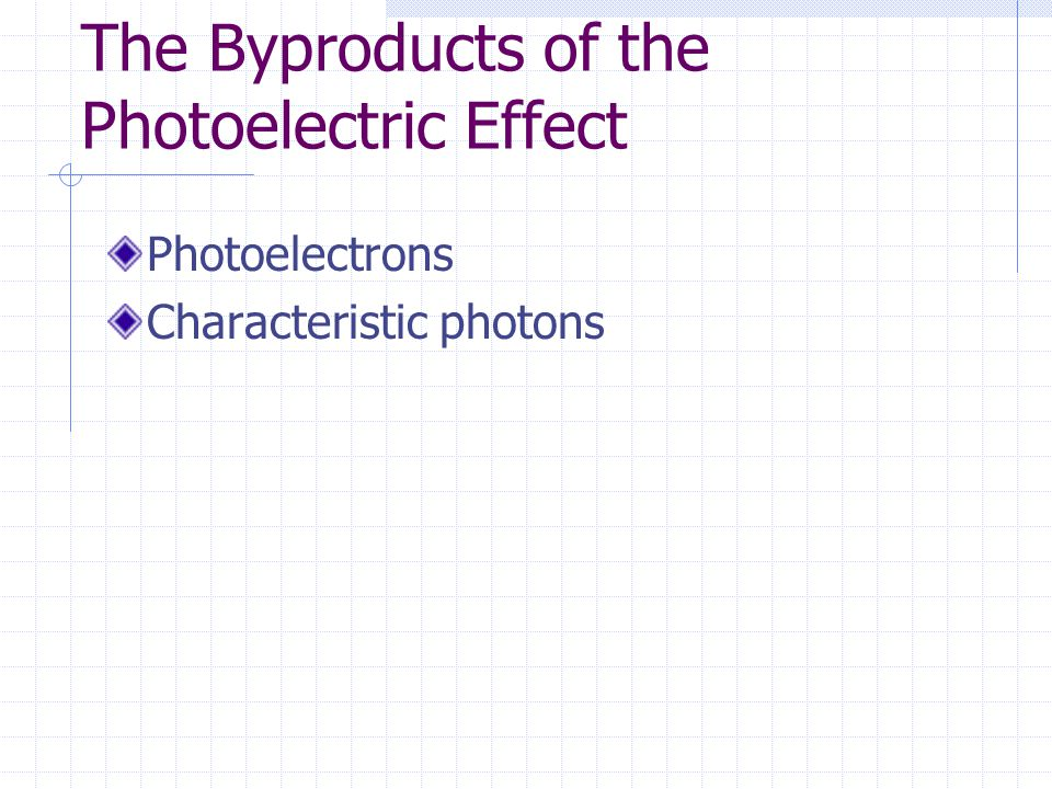 The Byproducts of the Photoelectric Effect