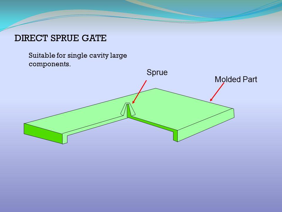 DIRECT SPRUE GATE Sprue Molded Part