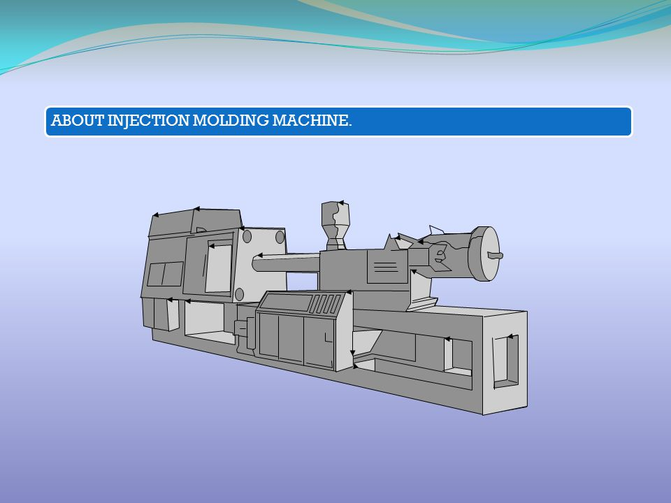 ABOUT INJECTION MOLDING MACHINE.