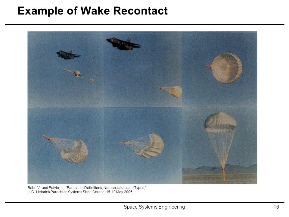 Example of Wake Recontact