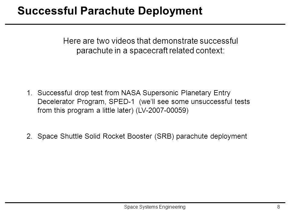 Successful Parachute Deployment