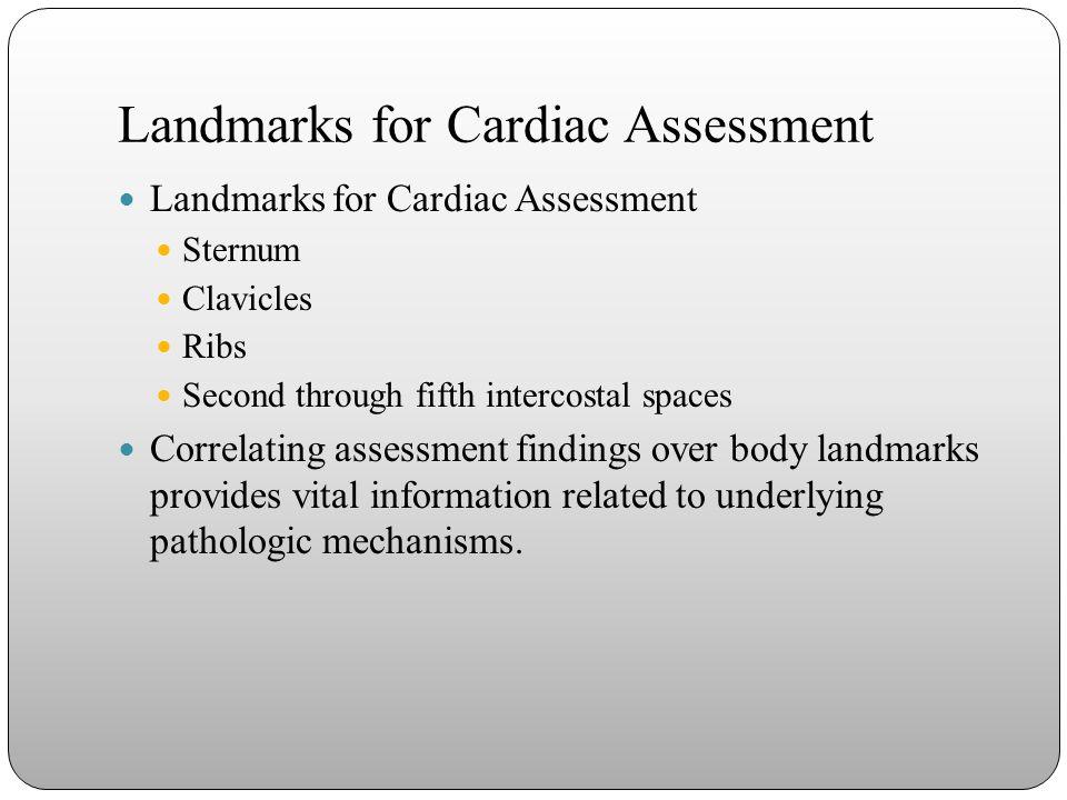 Landmarks for Cardiac Assessment