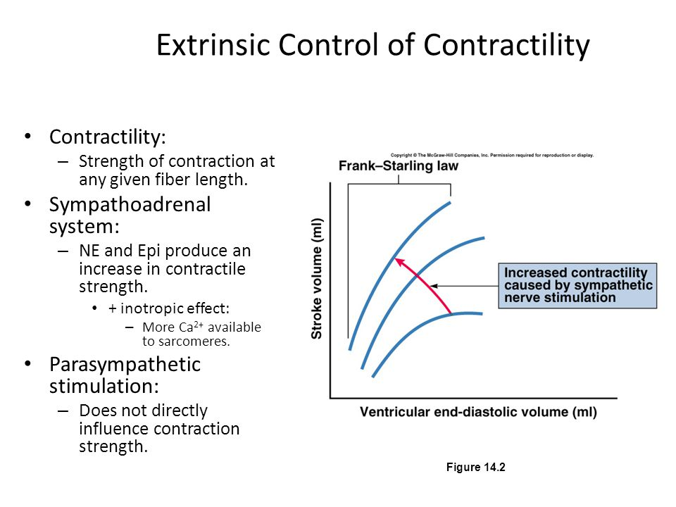 Extrinsic Control of Contractility