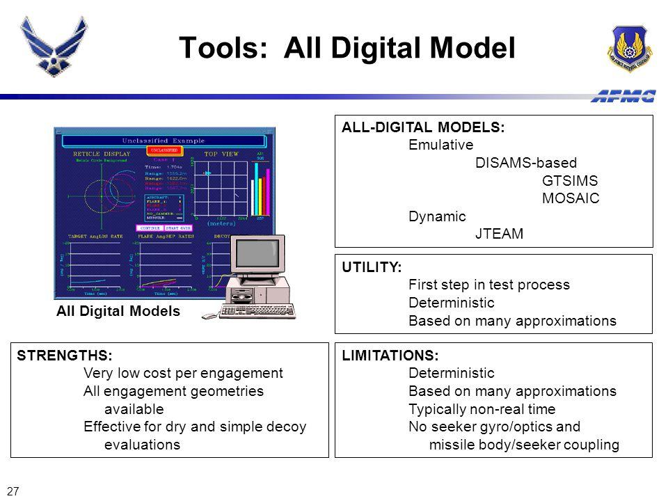 Tools: All Digital Model