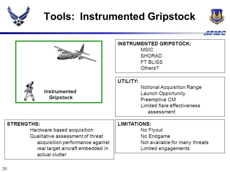 Tools: Instrumented Gripstock