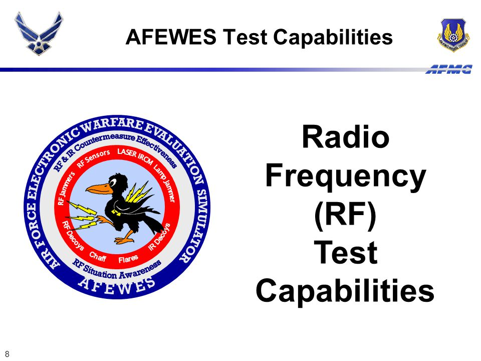 AFEWES Test Capabilities