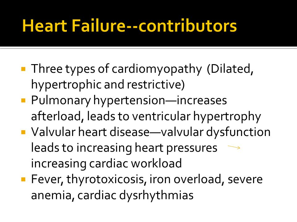 Heart Failure--contributors