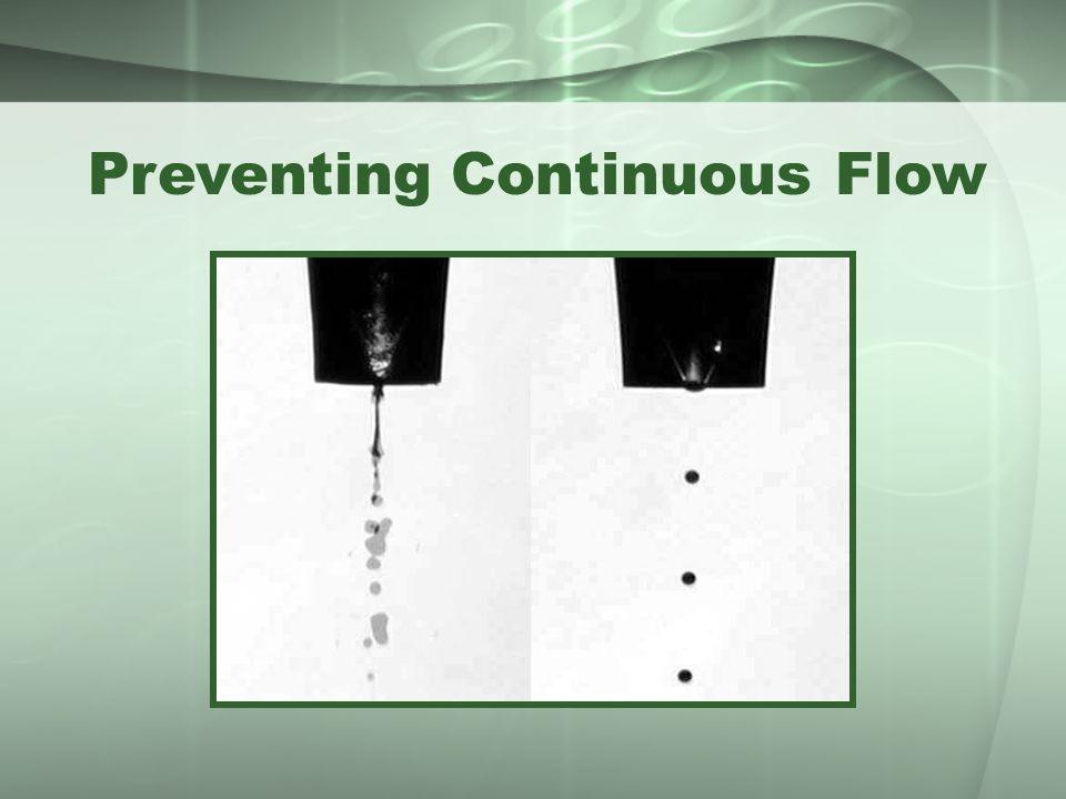Preventing Continuous Flow