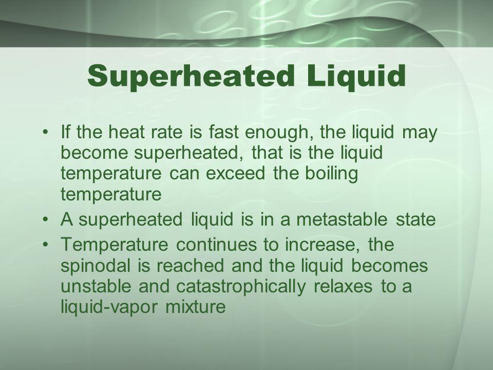 Superheated Liquid