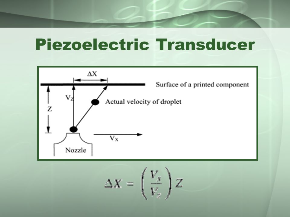 Piezoelectric Transducer