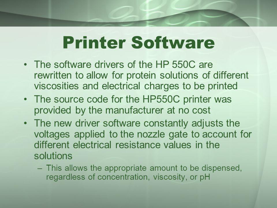 Printer Software