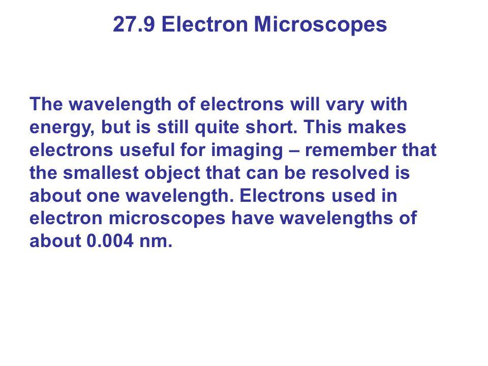 27.9 Electron Microscopes