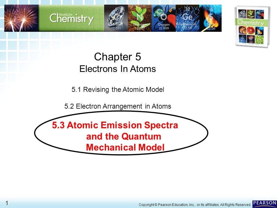 5.3 Atomic Emission Spectra