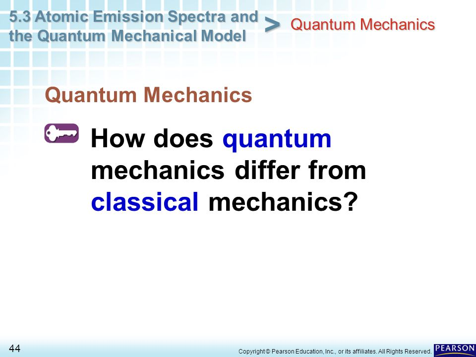 How does quantum mechanics differ from classical mechanics