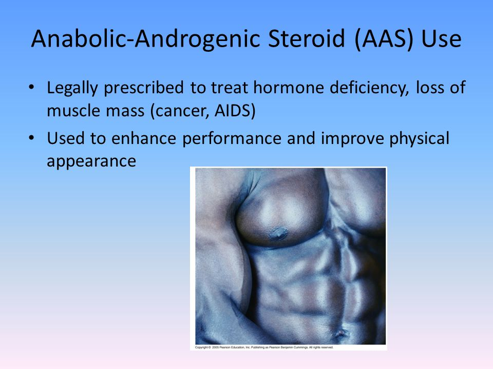 Anabolic-Androgenic Steroid (AAS) Use