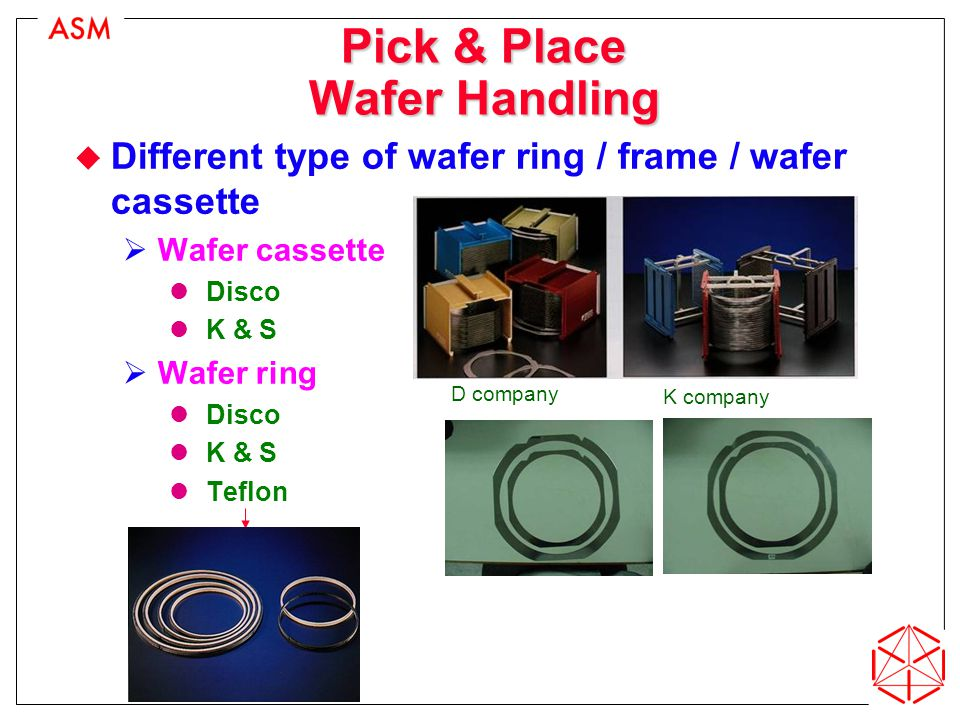 Pick & Place Wafer Handling