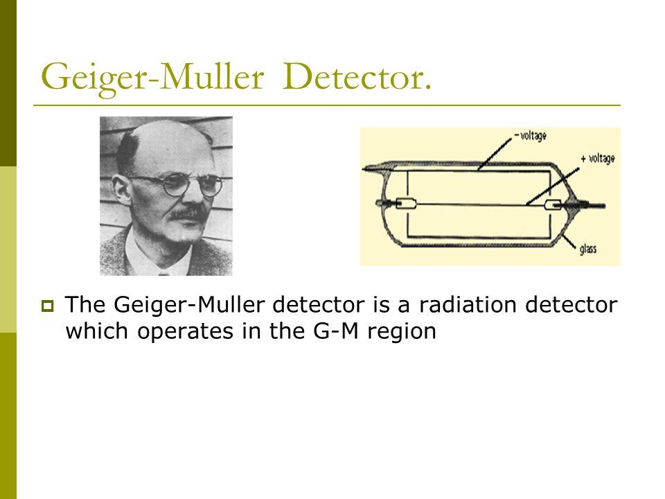 Geiger-Muller Detector.