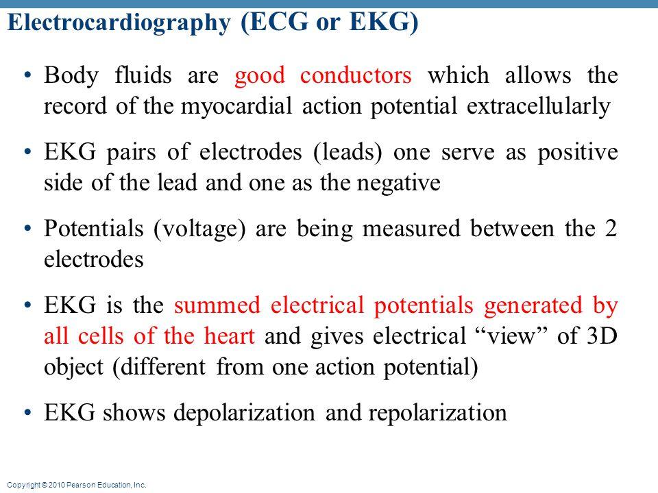 Electrocardiography (ECG or EKG)