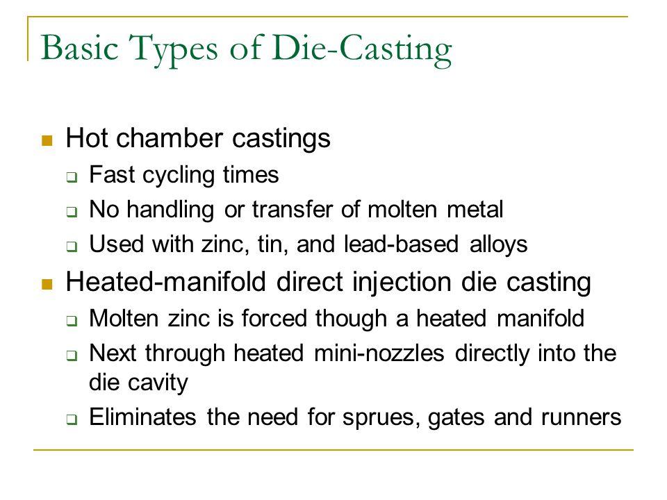 Basic Types of Die-Casting