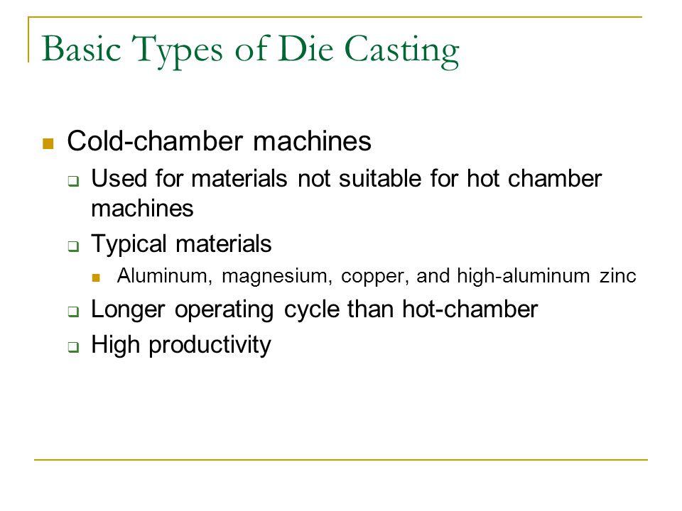 Basic Types of Die Casting