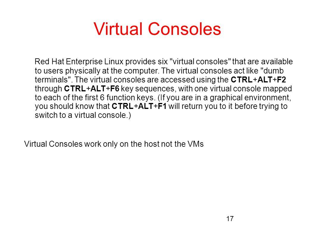 Virtual Consoles