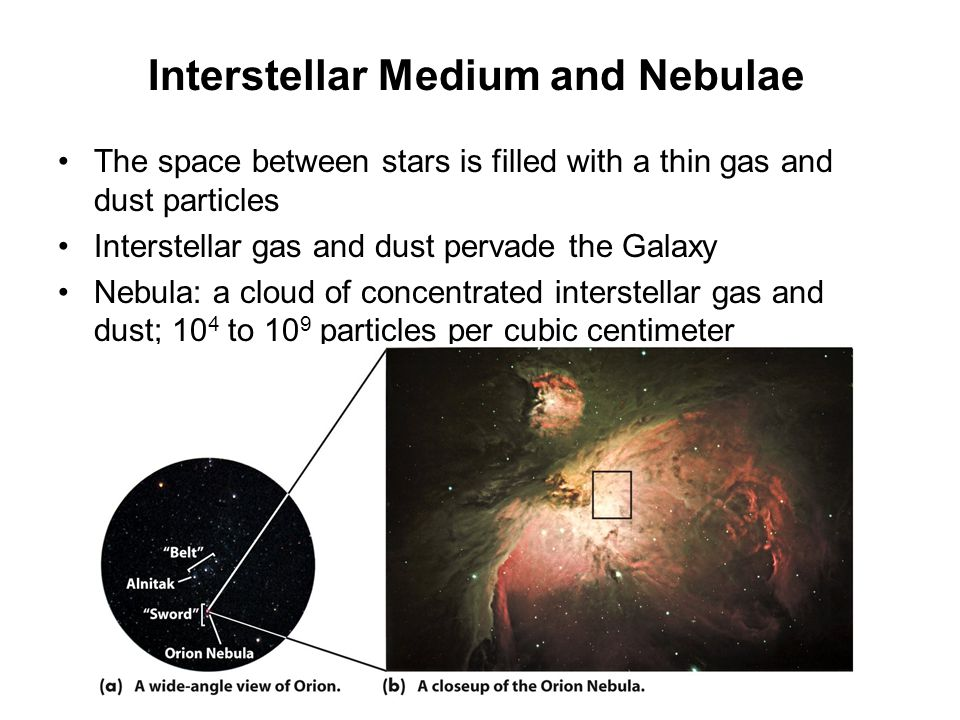Interstellar Medium and Nebulae