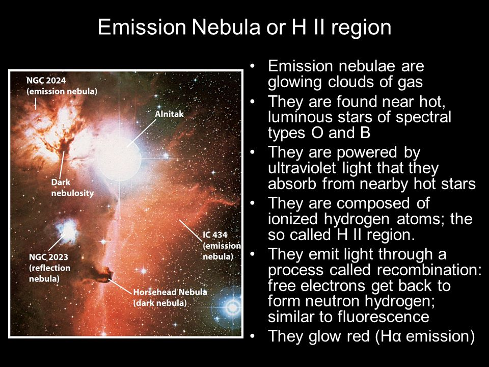 Emission Nebula or H II region