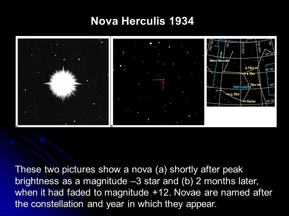 Nova Herculis 1934 FIGURE 13-7 Nova Herculis 1934.