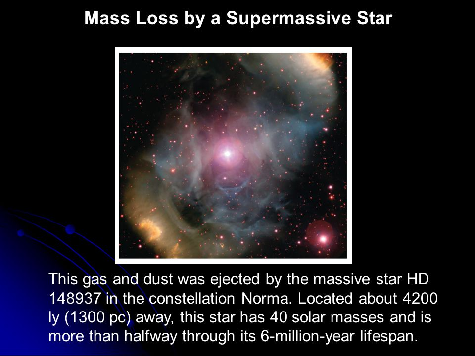 Mass Loss by a Supermassive Star