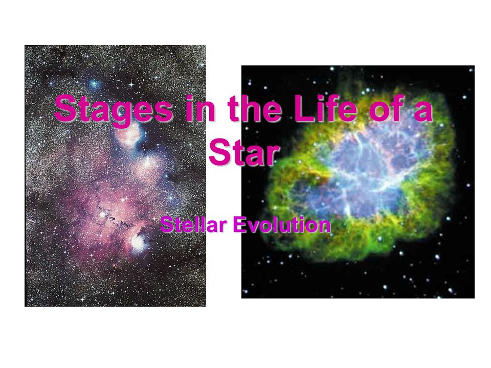 Stages in the Life of a Star