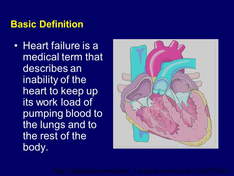 CHRONIC HEART FAILURE. - ppt video online download