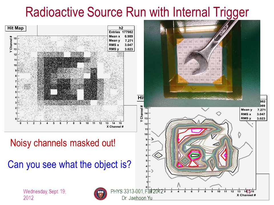 Radioactive Source Run with Internal Trigger