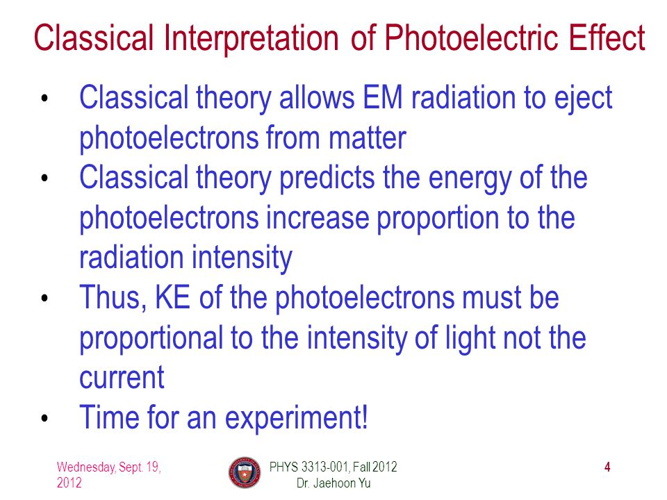 Classical Interpretation of Photoelectric Effect