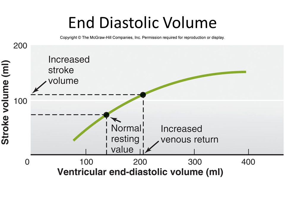 End Diastolic Volume