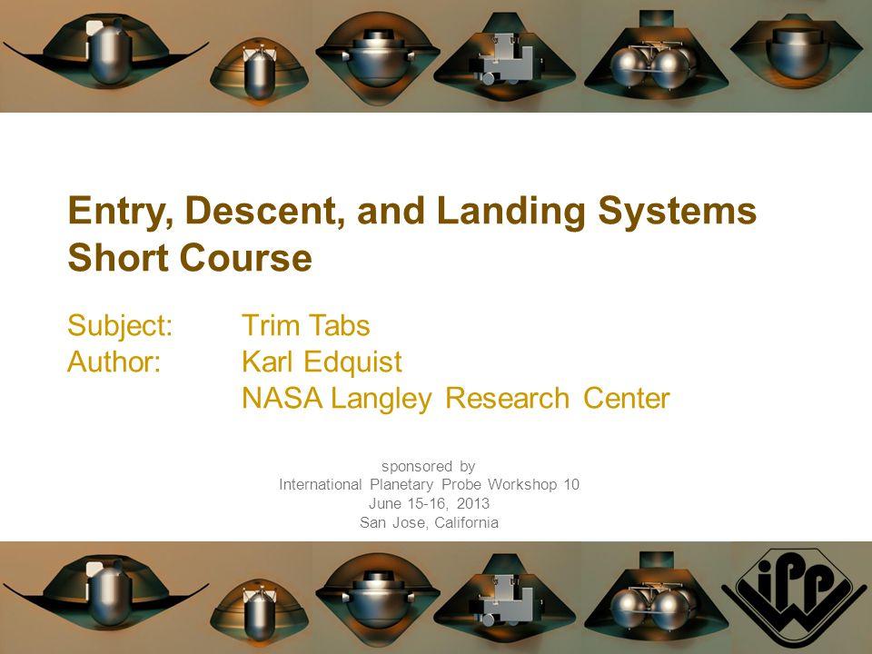 International Planetary Probe Workshop 10