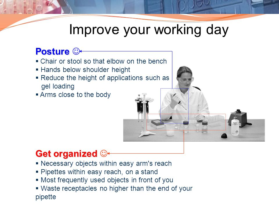 Improve your working day