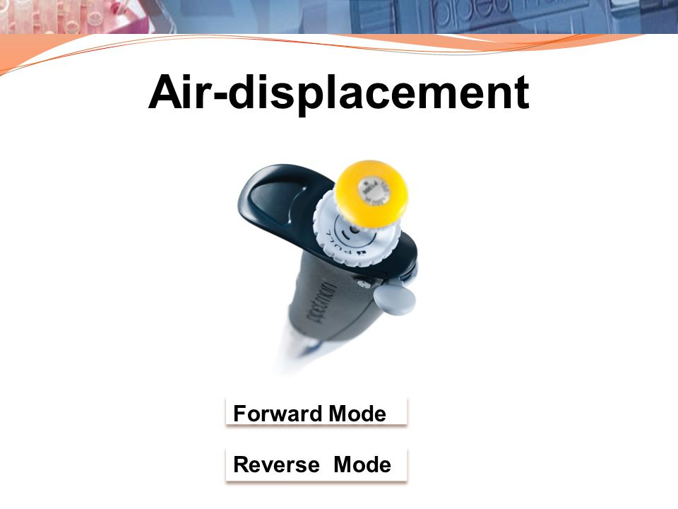 Air-displacement Forward Mode Reverse Mode