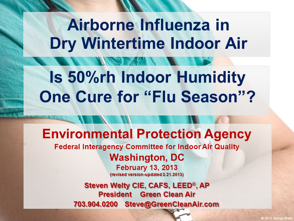 Dry Wintertime Indoor Air