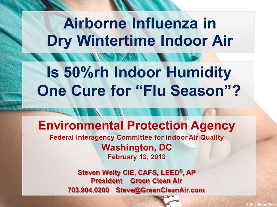 Dry Wintertime Indoor Air
