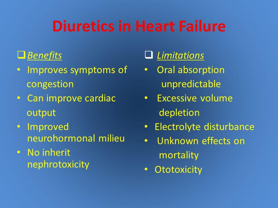 Diuretics in Heart Failure