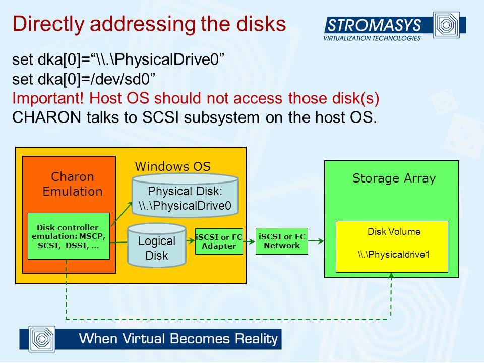 Disk controller emulation: MSCP, SCSI, DSSI, …