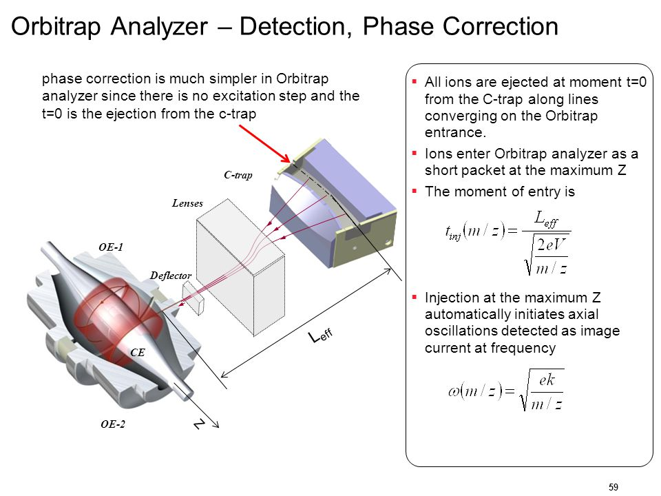 Orbitrap Analyzer – Detection, Phase Correction