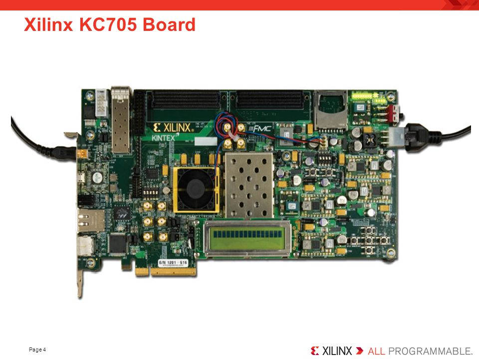 Xilinx KC705 Board