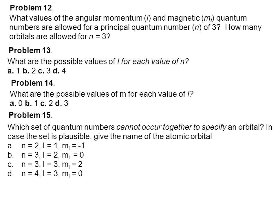 Problem 12.